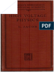 High Voltage Physics