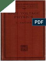 High Voltage Physics
