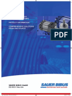 Sauerbibus Sumitomo High Performance Gear Pumps Catalogue en 201007