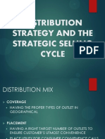 Distribution Strategy and the Strategic Selling Cycle