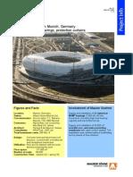Allianz Arena Munich Maurer Msm Bearings