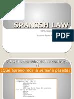 Clase 6. Derecho de los contratos II