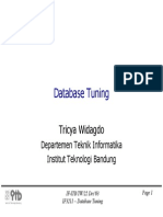 Tuning Database Itb