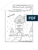 KG01_HD Winter Holiday Homework