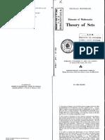 Nicolas Bourbaki Theory of Sets