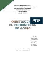 Cosntruccion Estructuras de Acero