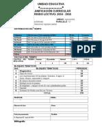 Planificación Anual Viveros 3ero Bachill Explot Agrop