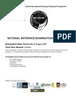 2008 Entrance Exam Q1-22