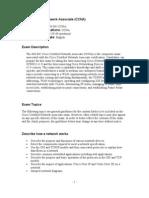 Cisco Certified Network Associate(Cisco)
