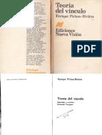 0 2 1 Pichon Riviere Teoria Del Vinculo Libro (1)Mmm