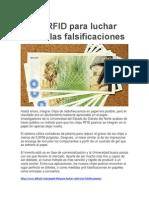 Papel RFID Para Luchar Contra Las Falsificaciones