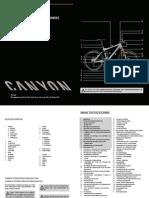 Canyon Mtb d Fahrradhandbuch