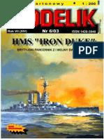 [Modelik 2003 06] - Hms Iron Duke