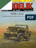 [Modelik 2002 10] - Willys MB Jeep