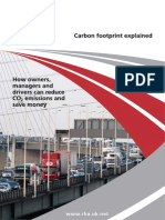 RHA Carbon Footprint Explained