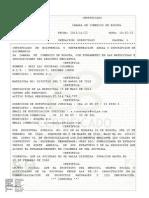 Existencia y Reperesentacion Legal o Inscripcion de Documentos Registro Mer0