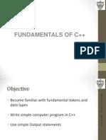 C++ Fundamentals