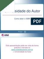 Como Obter o ISBN