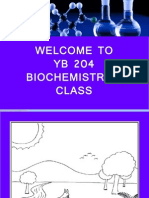 Topic 1 Introduction to Biochemistry New