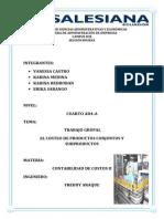 Productos Conjuntos y Subproductos