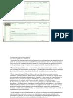 Clasificación de Los Servicios Públicos y Letra de Cambio