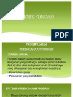03 DDT Fondasi Dangkal