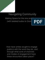 Navigating Community presentation