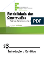 Aula003-IntroduçãoaEstática