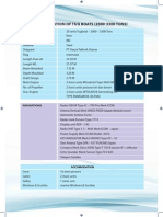 Specification of Tug Boats