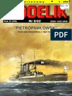 [Modelik 2002 08] - Imperial Russian Batleship Petropavlovsk