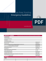 Remote Area Nursing Emergency Guidelines
