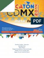 PresentacionEscuelasBecatonCDMX2014