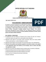 Tangazo La Kazi 27 Juni 2014_ Kiingereza