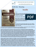 BI-Eli Lily - Humalog - Insulin