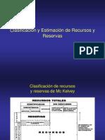 Reservas Minerales y Metodos de Evaluacion.