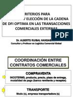 Criterios Elección Cadena DFI