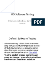 Pertemuan 12 Software Testing