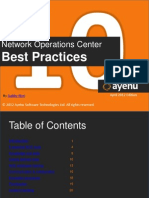 Network Operations Center Best Practices Free eBook