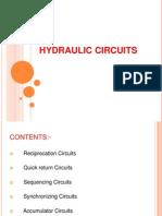 Hydraulic Circuits