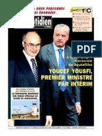Le Quotidien d Oran Du 12.03.2014