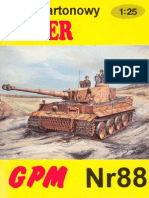 (Papermodels@Emule) [GPM 088] [Armor] SdKfz 181 PzKpfw VI Tiger I (Early)