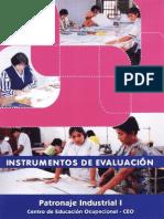 Instrumentosdeevaluacion -patronajeindustrialI