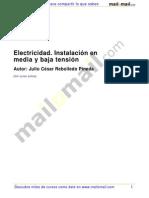Electricidad Instalacion Media Baja Tension 25617