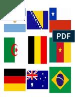 Banderas Del Mundial 2014