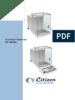 Semi Micro Balance Oprating Manual