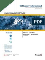 Small hydro analysis