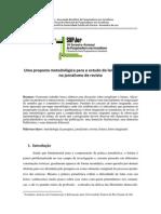 2012 Uma proposta metodológica para o estudo do leitor imaginado no jornalismo de revista