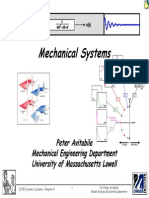Dynamic Systems Mechanical Systems