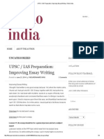 UPSC _ IAS Preparation_ Improving Essay Writing _ Khelo India