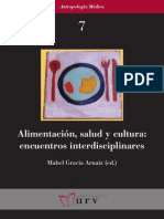 Alimentación, Salud y Cultura Encuentro Interdisciplinares